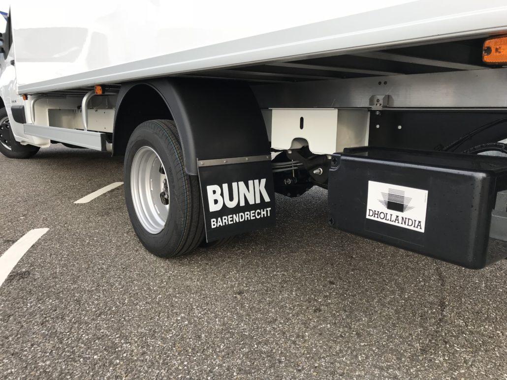 Renault Master bakwagen dubbel lucht