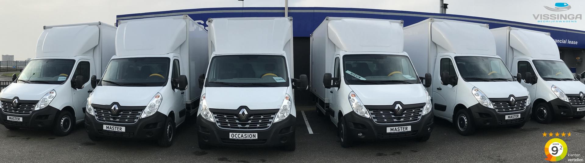 Vissinga Bedrijfswagens uw Renault Bakwagen specialist