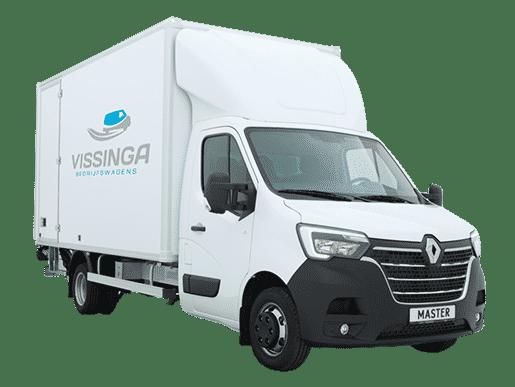 Renault Master bakwagen wit dubbellucht