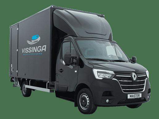 Renault Master bakwagen zwart enkellucht