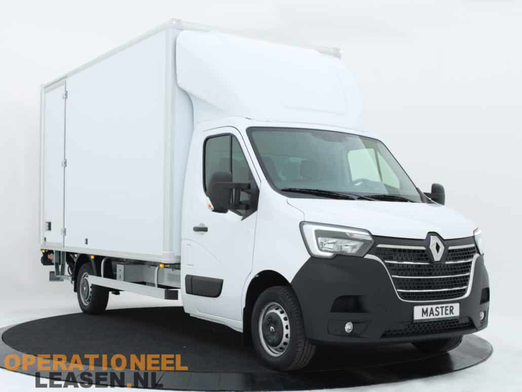 Operational Lease bakwagen wit voor een all-in prijs - Gratis thuisbezorgd